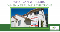 What can you learn when a deal falls through?
