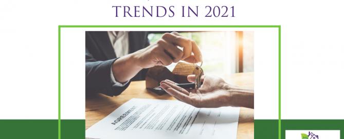 Five Major Housing Trends in 2021