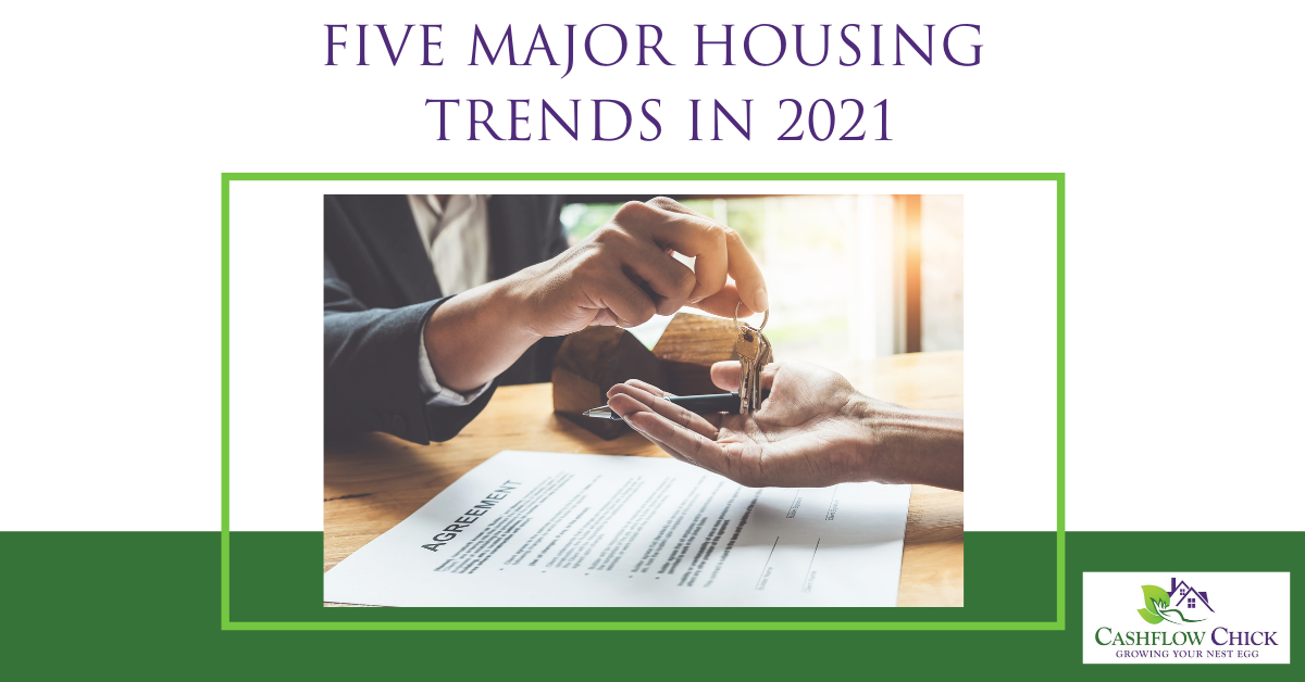 Five Major Housing Trends in 2021