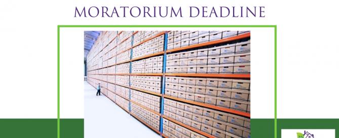 The New Federal Foreclosure Moratorium Deadline